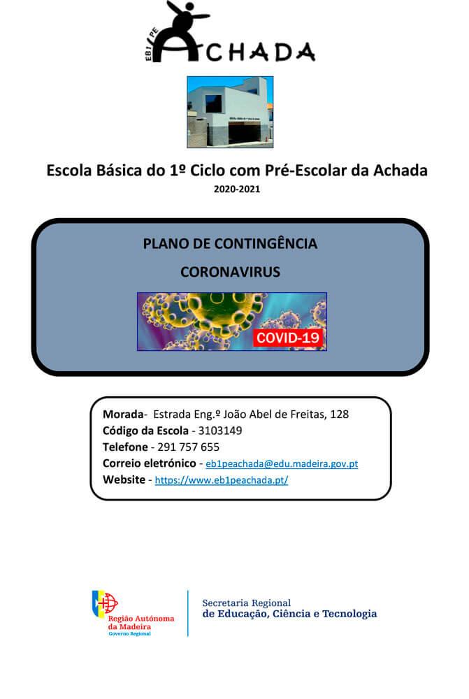Plano de Contingência - COVID-19 - 2020-2021